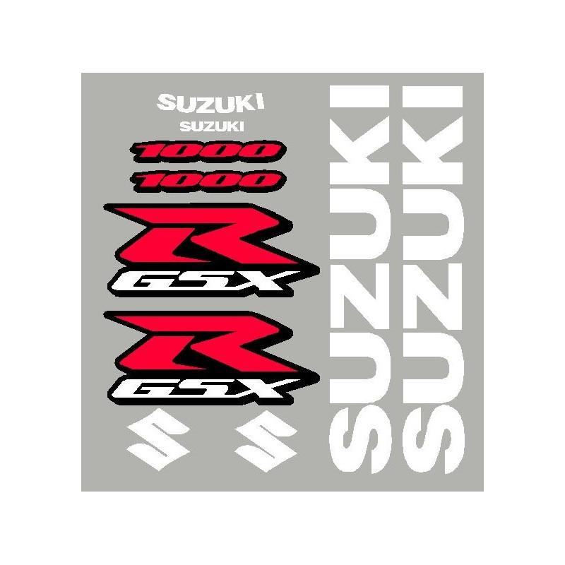 Kit stickers pour GSXR 600, 750 ou 1000 année 2008