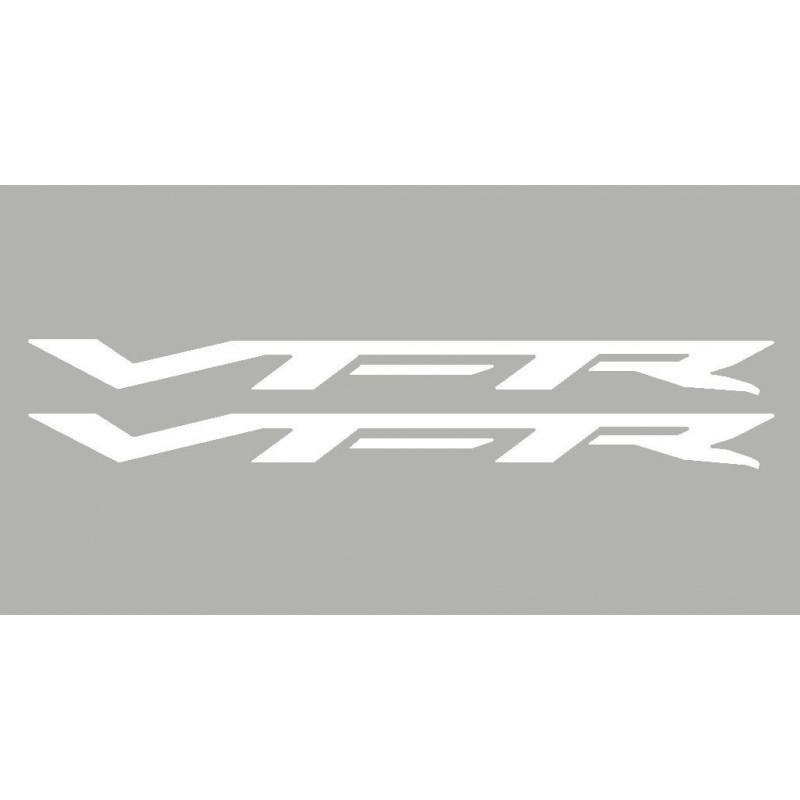 2 Stickers autocollants VFR Honda