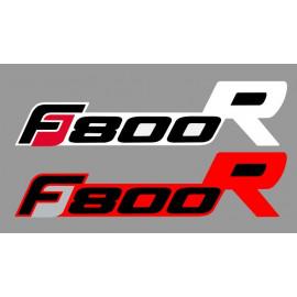 2 stickers autocollants F800R BMW