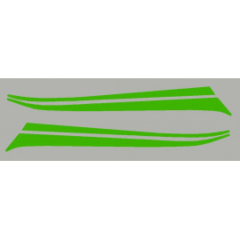 Streifen aufkleber für Z800