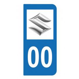 Logo SUZUKI pour auto ou moto