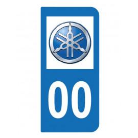 Logo YAMAHA pour moto