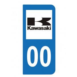 Logo Kawasaki pour moto