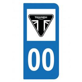 Logo Triumph pour moto