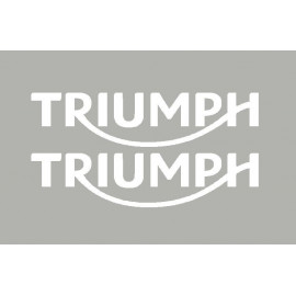 2 stickers TRIUMPH 2014 à