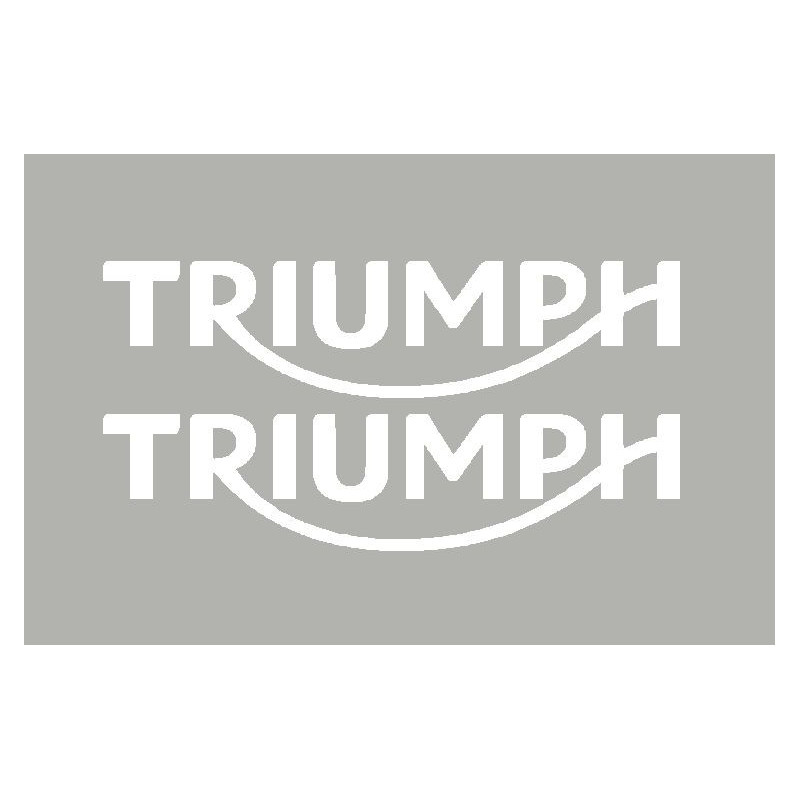 2 adesivos TRIUMPH 2010 ate ...