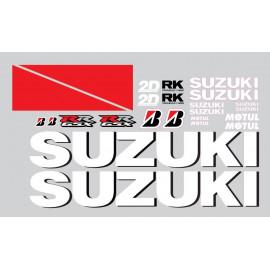 Kit deco piste Suzuki GSXR moto gp