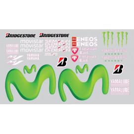 Kit deco piste Yamaha R1 ou R6 de piste