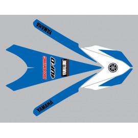Sticker garde boue avant pour Yamaha YZ ou YZF