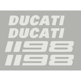 sticker Ducati for 1198 or 1198s