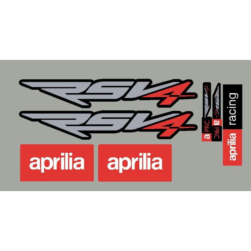 Stickers moto Aprilia RSV4