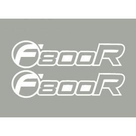 2 autocollants F800R BMW 10-11
