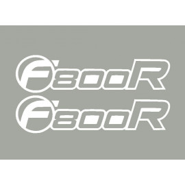 2 stickers F800R BMW