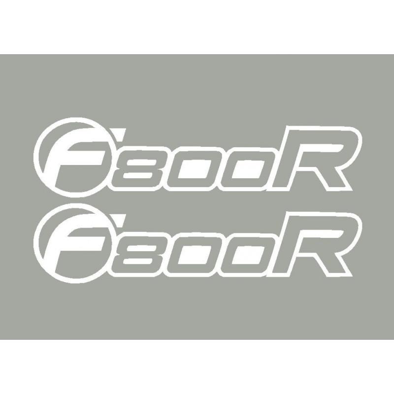 2 stickers F800R BMW