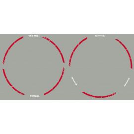 """Strisce decorative per cerchi da 17"""" race effilé"""