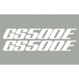 2 aufkleber SUZUKI GS500E