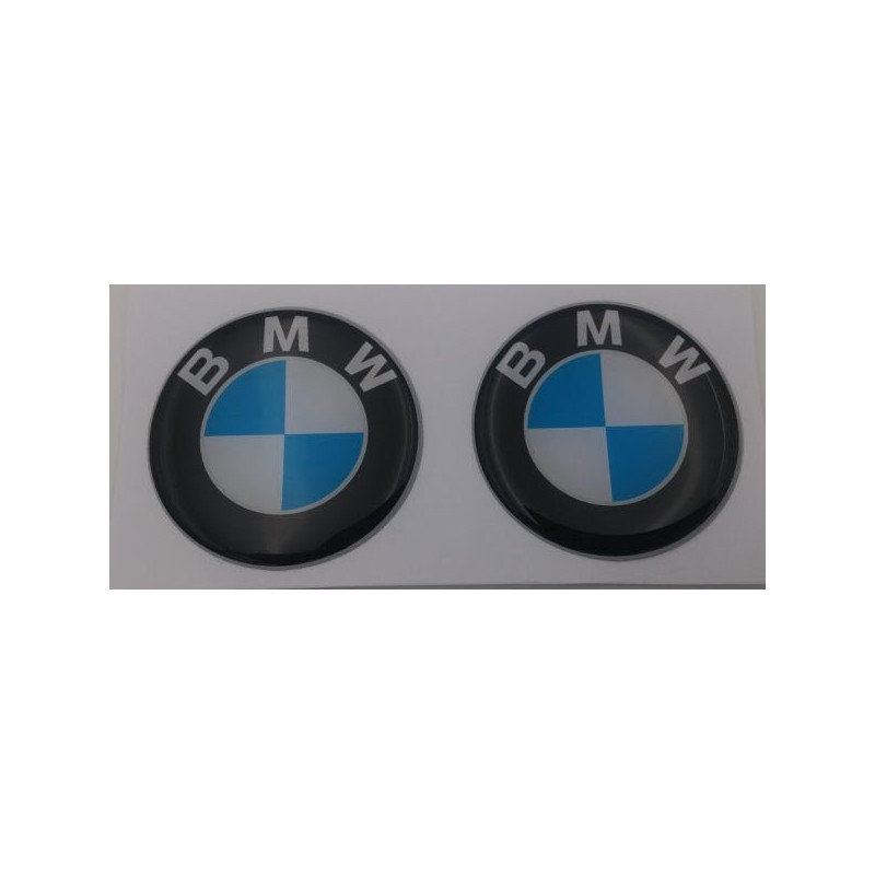 Logo BMW diamètre 40 mm en relief 3D