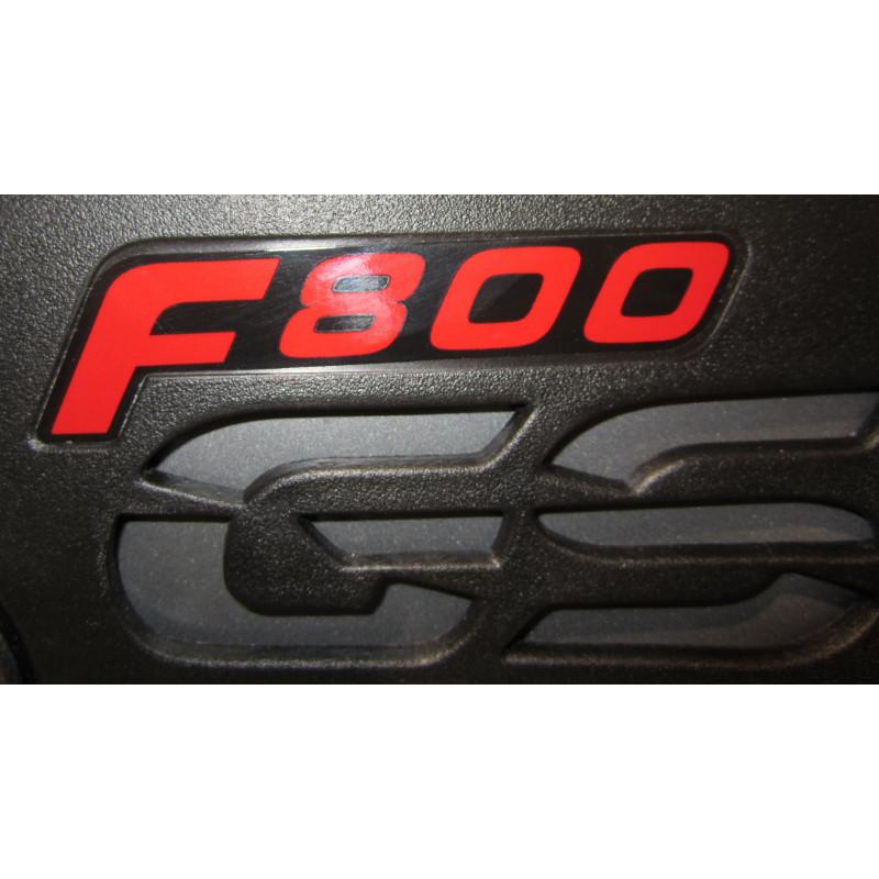 2 aufkleber F800GS -schwarz