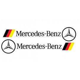 Sticker Mercedes Allemagne