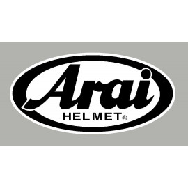 4 logos réfléchissant ARAI fond blanc