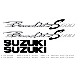 Kit stickers pour SUZUKI Bandit S 600