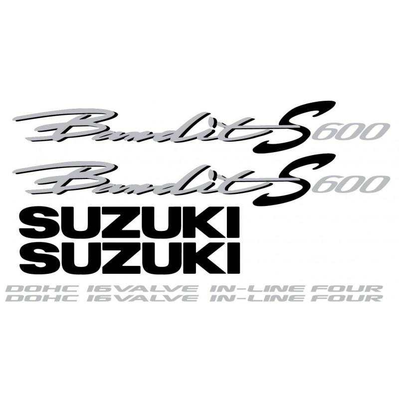 737 Kit Stickers Pour Suzuki Bandit S 600