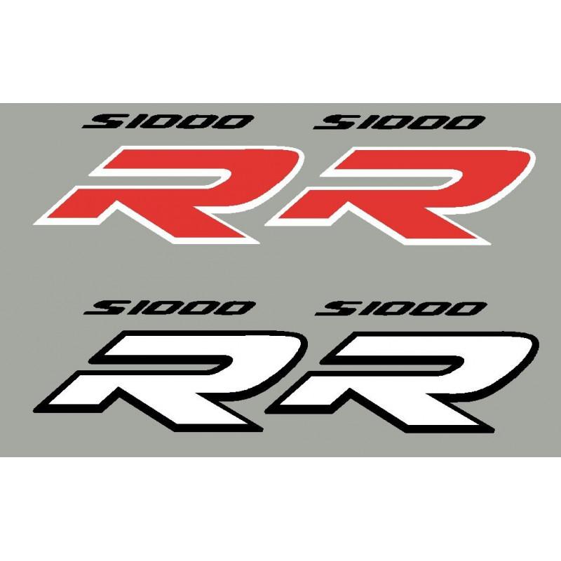 2 stickers autocollants S1000R BMW