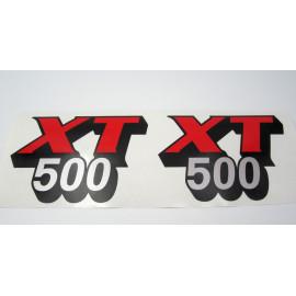 Planche Yamaha XT 500