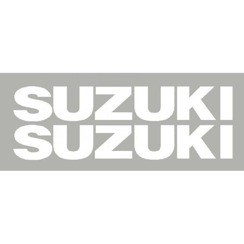 2 lettrage Suzuki dim 310x50 mm