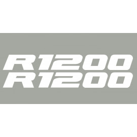 2 Pegatinas R1200 BMW