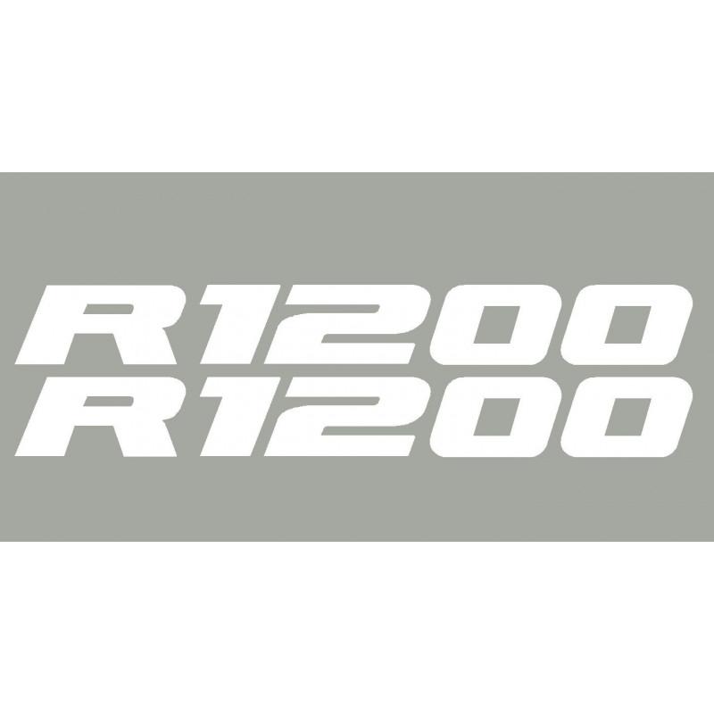 2 stickers autocollants R1200 BMW