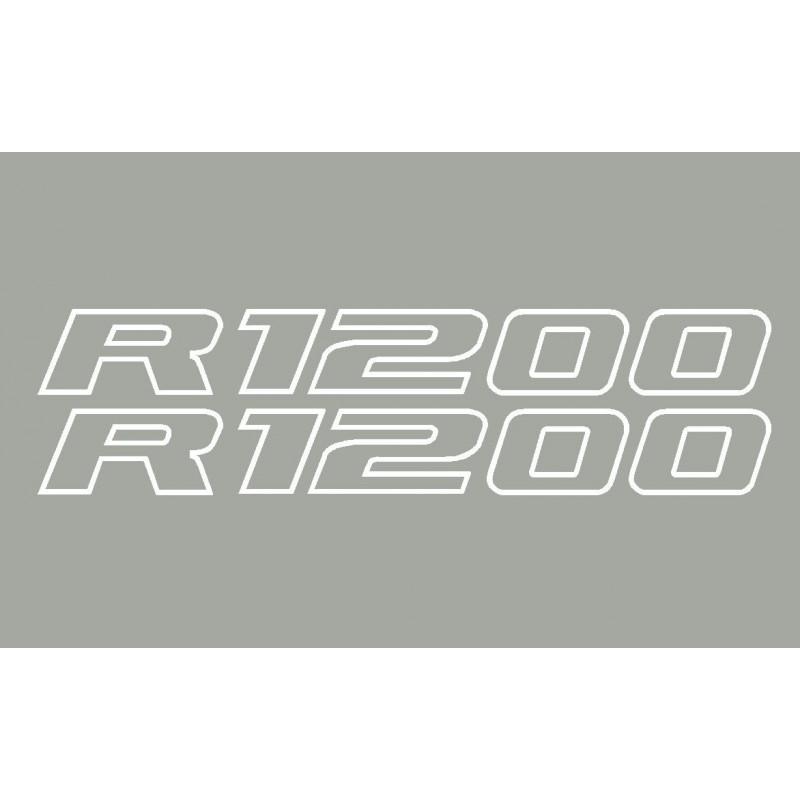 2 adesivi R1200 BMW