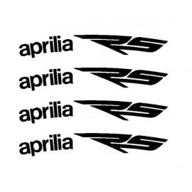 4 aufkleber GSXR für motorrad felge