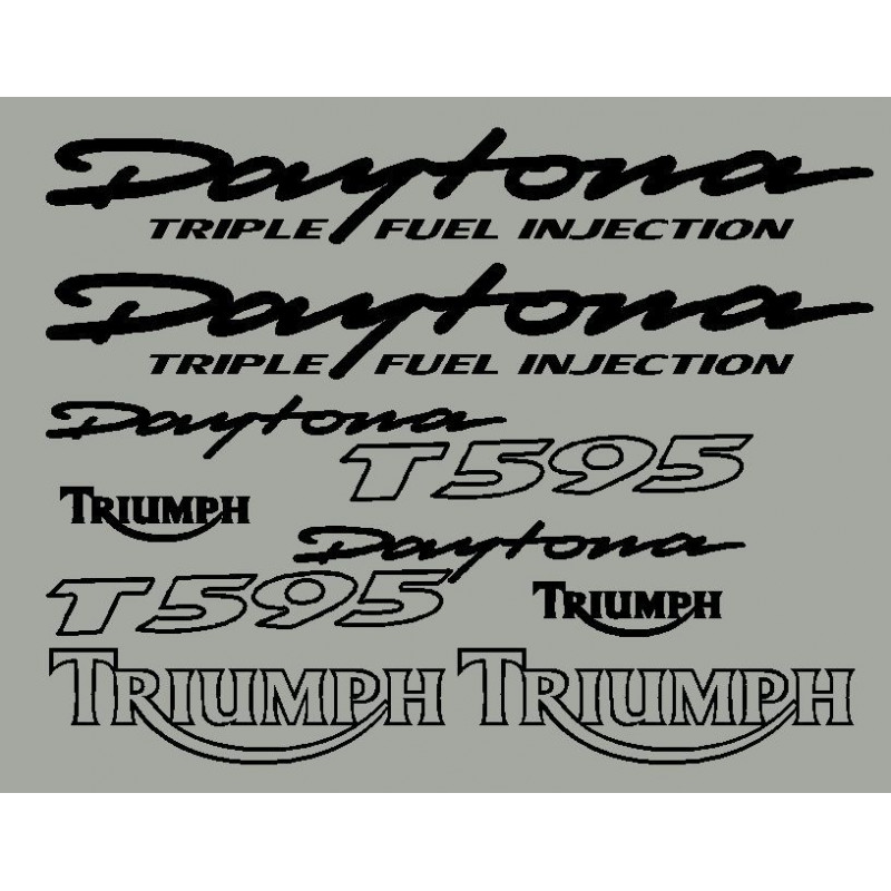 Kit sticker Triumph Daytona 595