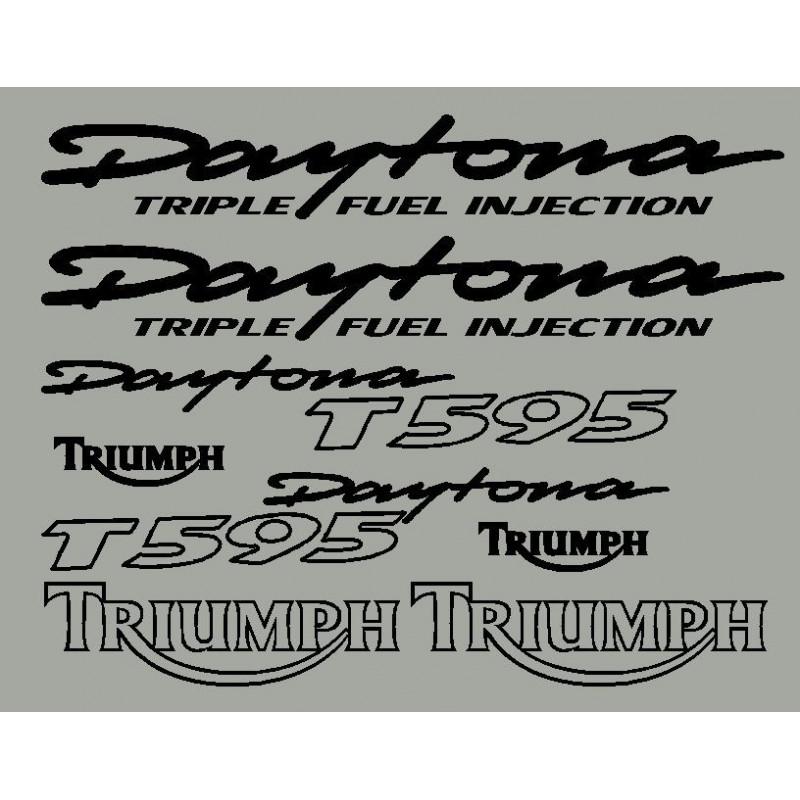 Kit sticker Triumph Daytona 595