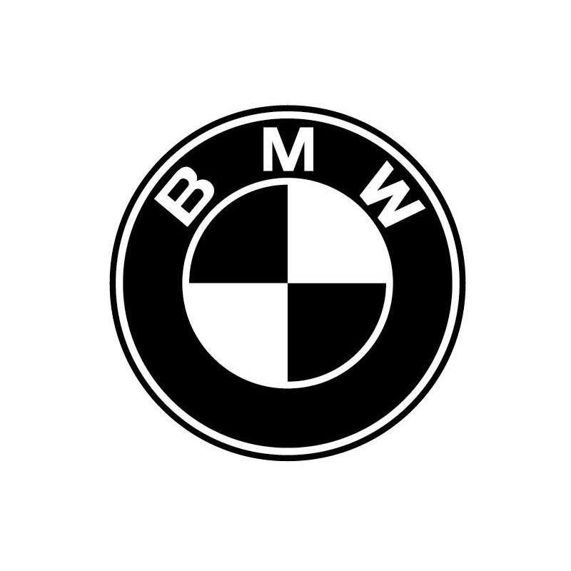 2 Logos bmw en monochrome