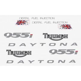 Kit sticker autocollant Triumph Daytona 955i