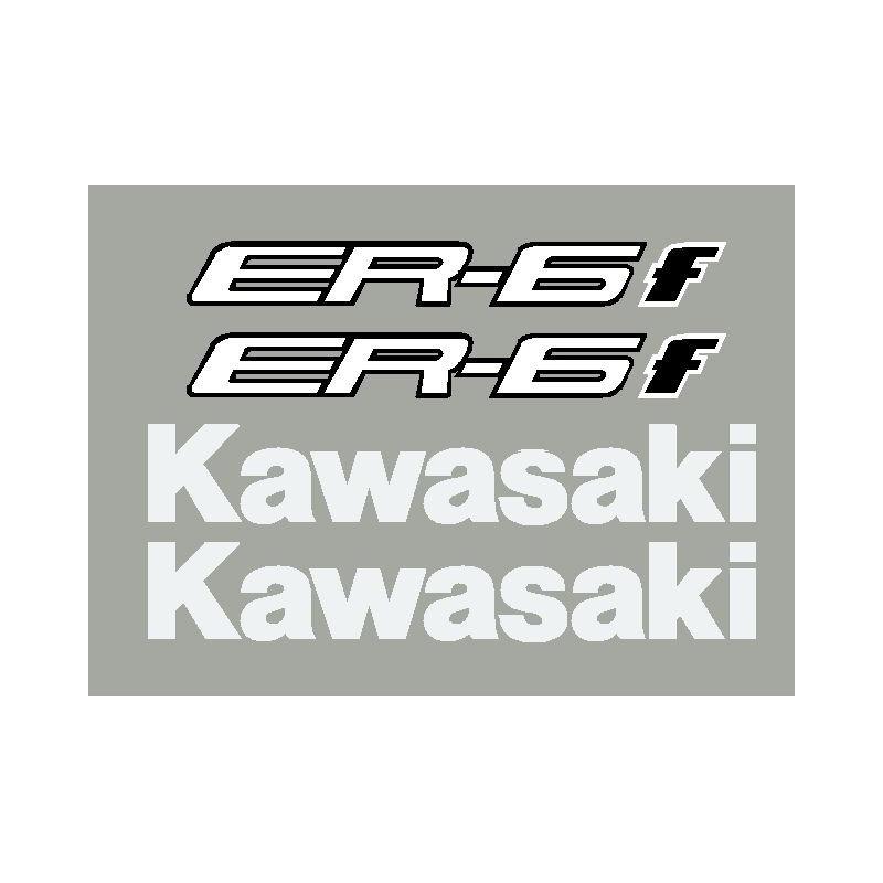 Kit stickers autocollants ER6f Kawasaki 2013-14