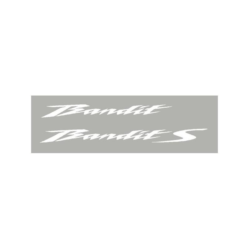 2 Stickers Suzuki bandit 2010