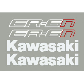 Kit stickers autocollants ER6n Kawasaki 2013-14