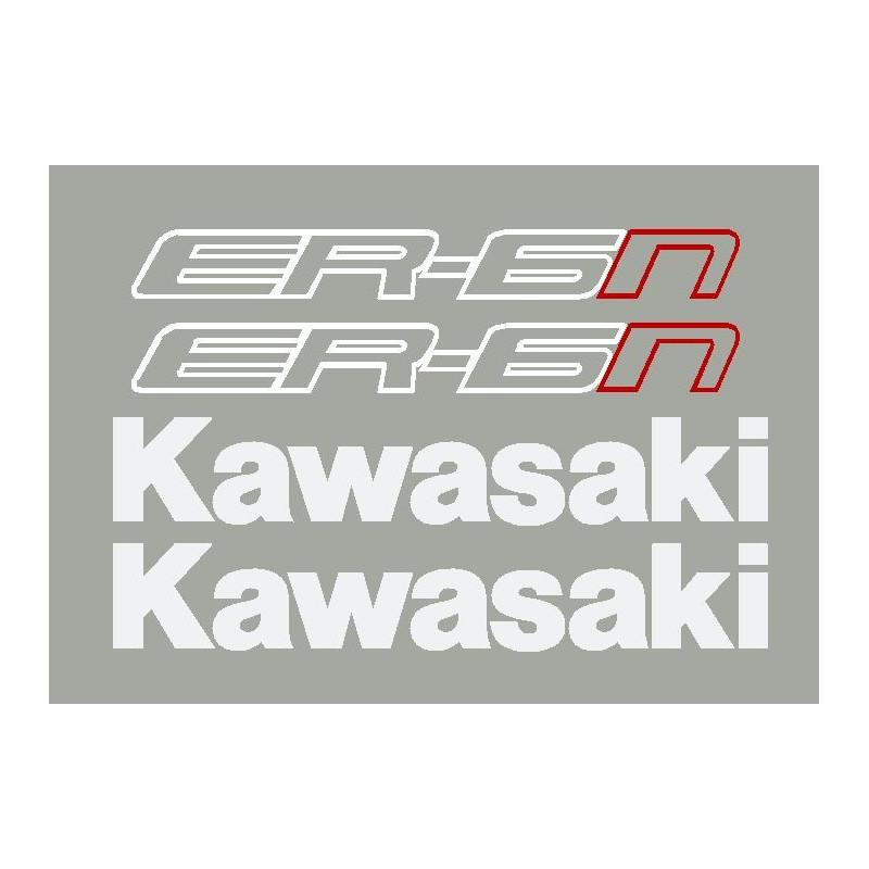Kit stickers autocollants ER6n Kawasaki 2013-14