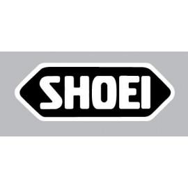 4 logos réfléchissant SHOEI fond noir