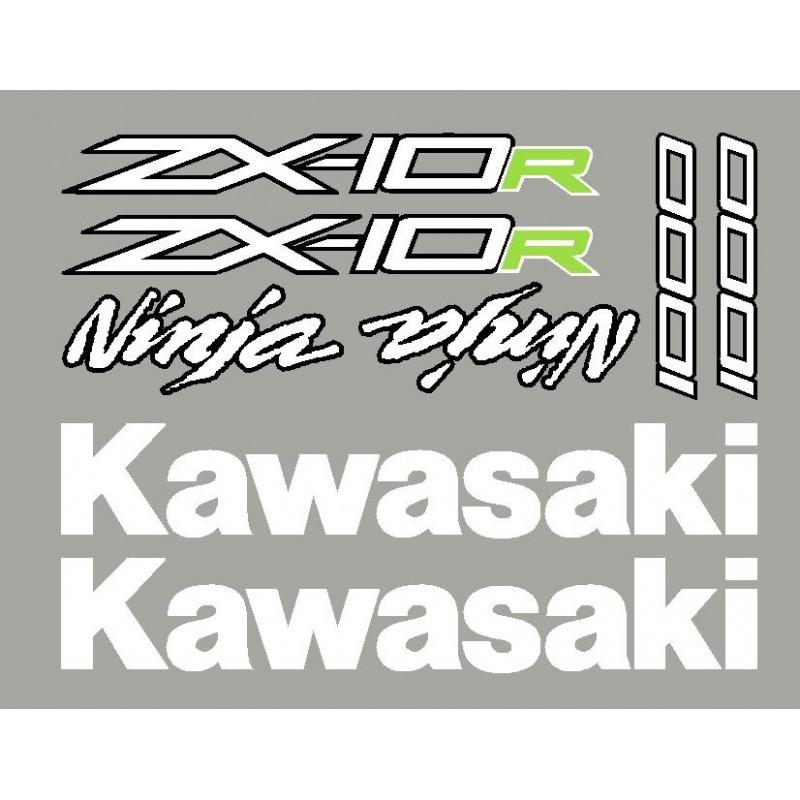 Pack sticker Kawasaki ZX6R ou ZX10R