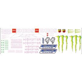 Kit deco piste Yamaha R1 ou R6 moto gp 2018