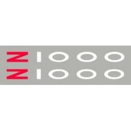 2 Stickers Z750 ou Z1000