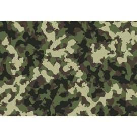 Vinyle de covering camouflage vert/marron