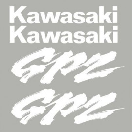 Kit stickers for Kawasaki GPZ