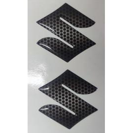 2 Logo S de Suzuki en relief 3D