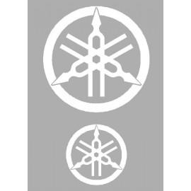 2 Felgenaufkleber logo Yamaha