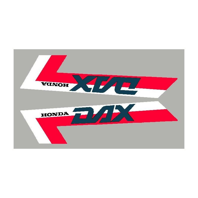 2 stickers pour Honda DAX